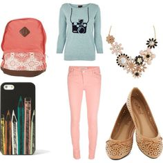 This can be taken as a casual outfit or throw in a scarf or necklace and make it a work or school outfit! Description from pinterest.com. I searched for this on bing.com/images