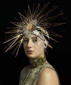 photograph by Hendrik Kerstens for Harper's Bazaar Philip Treacy Hats, Eiko Ishioka, Stylish Hats, Modern Masters, Fashion Articles, Oui Oui, Old Master, Fashion Story, Harpers Bazaar