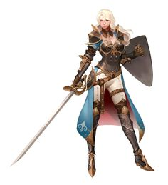 Female Human Fighter Noble - Pathfinder PFRPG DND D&D d20 fantasy