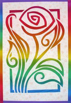 Fantasy Rose quilt pattern