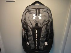 d0209eb792 Under Armour Strom Contender Back Pack Water Rsistant Color Gray &  Black #Underarmour Under