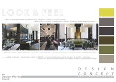 Members Bar | Concept Design | Mood Board & Colour Palette