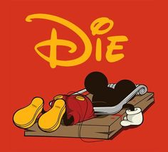 Wtf did I just see.... Poor Mickey, my childhood is ruined.....