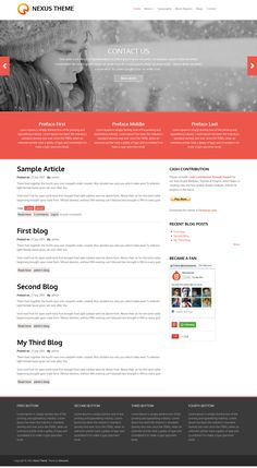 34 Drupal Free Themes Ideas Drupal Theme Portfolio Web Design