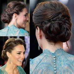 17 Stunning Wedding Hairstyles Classic Kate Middleton Kate Middletons Wedding Hairstyle StyleCaster Kate Middletons Wedding Hairstyle Pastena who also wants to see Kate. Braided Hairstyles Updo, 2015 Hairstyles, Elegant Hairstyles, Braided Updo, Vintage Hairstyles, Wedding Hairstyles, Cabelo Kate Middleton, Kate Middleton Makeup, Princess Hairstyles