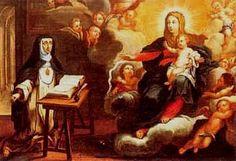 Mística Ciudad de Dios /  24 de Mayo / Año: 1660 / Lugar: Ágreda, España / Vida de la Madre de Dios revelada a la Madre María de Jesús de Ágreda (1602-1665).