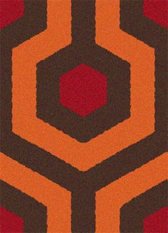 Concept: Modular Floor Tiles Based on the Iconic Carpet in Stanley Kubrick's The Shining | Andrew Hearst