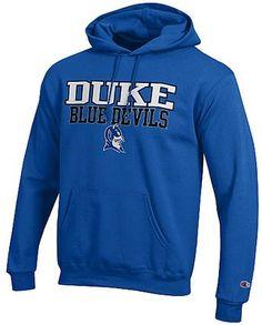 Duke Blue Devils Mens Royal Arena Screen Printed Hoodie Sweatshirt by  Champion  44.95 fb117e363