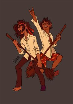 Sirius and James fan art by ocraie.tumblr.com