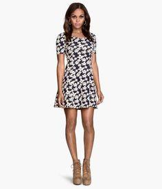 Jersey dress #dress #offduty #women #covetme #h&m