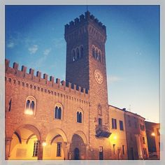 """Bertinoro la """"terrazza della Romagna"""" - Instagram by superlua77"""