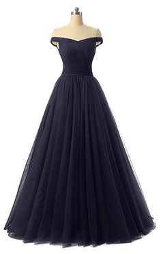 Nina A-line Tulle Prom Formal Evening Homecoming Dress