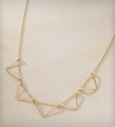 GF Bunting Necklace | Buntings (also known as pennants or banners) have been an obse... | Necklaces