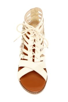 I'd like these in black, NYLA Empire Buckle Sandal