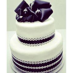 Bellisimo pastel para bodas. <3
