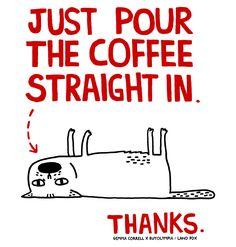 gemma correll's tumblr of things and stuff Coffee Meme, Coffee Talk, Coffee To Go, Coffee Is Life, I Love Coffee, Coffee Quotes, Coffee Drinks, Coffee Shop, Coffee Coffee
