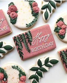 Iced Cookies, Holiday Cookies, Cake Cookies, Sugar Cookies, Cookies Et Biscuits, Cupcakes, Sugar Cookie Royal Icing, Cookie Icing, Cookie Cake Designs