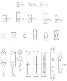 Door Architecture Symbol & Architectural Symbols For Floor