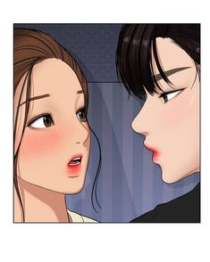 Anime Couples Manga, Anime Guys, Super Secret Webtoon, Anime Korea, Cute Anime Coupes, Cute Couple Art, Webtoon Comics, Korean Aesthetic, Beautiful Stories