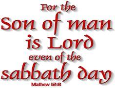 Matthew 12:8