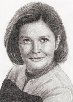 Star Trek Voyager - Captain Kathryn Janeway (Kate Mulgrew) Art Work by danmartin26 on deviantART.