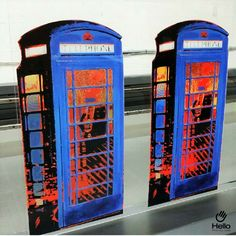 Request acrylic printing for a realistic finish! #CNCRouting #CNC #Routing #Phone #Phonebooth #Decoration #Hello #Decor #Acrylic  #DigitalPrinting