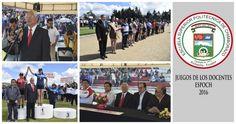 Arrancaron juegos docentes ESPOCH 2016 - Escuela Superior Politecnica de Chimborazo