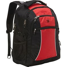 nice SwissGear Travel Gear Laptop Backpack 6688 (Red Course/ Black) Check more at http://amazonshopings.com/amazon-shopping/luggage-and-travel-gear-amazon/swissgear-travel-gear-laptop-backpack-6688-red-course-black/