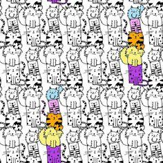 Puurrr-fect pattern by Pauline Reeves
