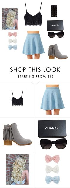 """Summer Breeze"" by clothesaholic350 on Polyvore featuring Chanel, Decree and Diane Von Furstenberg"