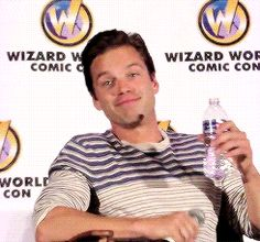 """""""you're so thirsty for sebastian stan"""""""
