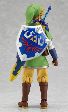 The Legend of Zelda Skyward Sword Link Figma Action Figure--WHERE can I find this?!