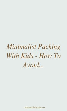 Minimalist travel teaches you how to separate in between your needs and your wants. By practicing its principles, we can develop a better ... #feelthe... Minimalist Packing, Frame Of Mind, Minimalist Home Decor, Separate, Family Travel, Family Trips, Pull Apart