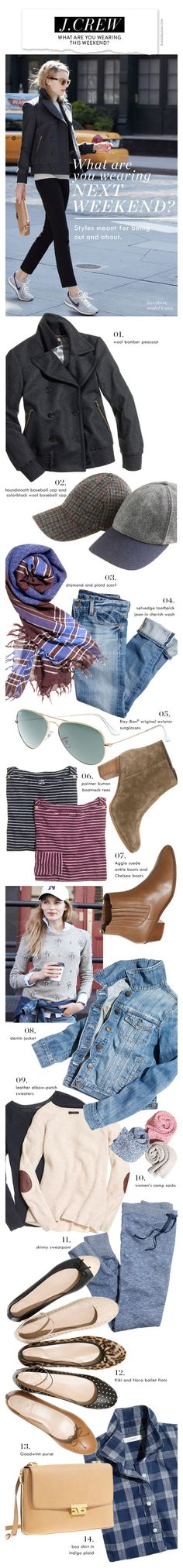 J.Crew: What are you wearing this weekend?
