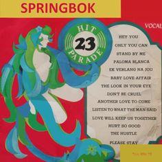 Springbok: Springbok Hit Parade Volume 01 To 30 Vintage Food Labels, Another Love, Piano Music, Love Affair, Stand By Me, Lps, Erotica, Baby Love, Vinyl Records