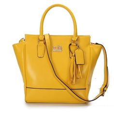 #CoachOutletStore Durable And High Quality Coach Legacy Tanner Small Yellow Crossbody Bags AAG Is Your Close Partner!