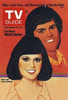 Donny Osmond, Marie Osmond, Sean Leonard, The Osmonds, Vintage Tv, Vintage Movies, Great Tv Shows, Kids Tv, Tv Guide
