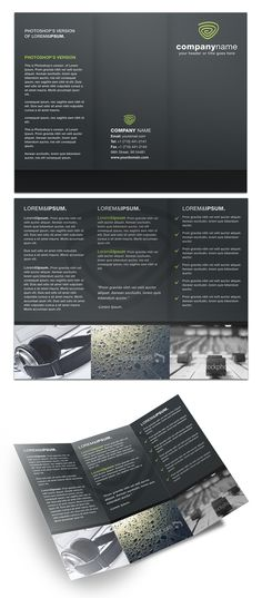 Brochure Designs | Free PSD Templates Download from PrintPlace