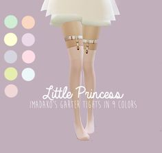 Sims 4 CC's - The Best: Tights by Egos and Lies