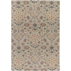 Castello Blue and Brown Rectangular: 2 Ft 6 In x 8 Ft Runner - (In Rectangular)