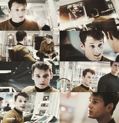 Star trek with Anton Yelchin oh lordy!