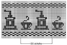 Filet Crochet Pattern.  An endless possibility for your creativity.