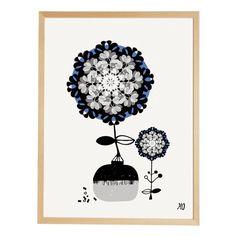 Et voilà l'affiche The Delicate Flowers de going Danish On Aime beaucoup ce joli graphisme Scandinave Tendre et Délicat Et bien sûr on imagine déjà une Magnifique Déco murale... avec plein de Belles Affiches !