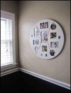 Perfect way to display pictures from different seasons
