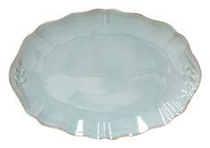 COSTA NOVA Alentejo collection. Platter. Turquoise.