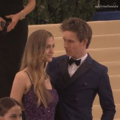 Addicted to Eddie — Eddie Redmayne and Hannah Bagshawe at Met Gala...