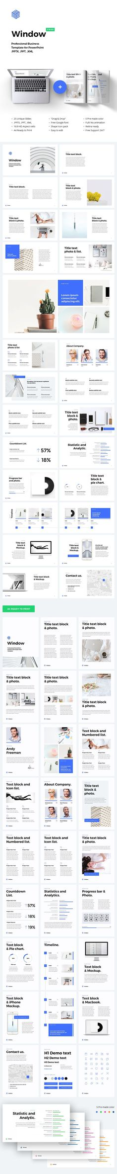 powerpoint flyer template. online education flyer templates, Modern powerpoint