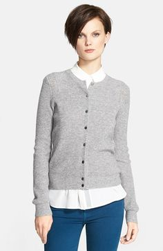 Vince Wool Blend Cardigan available at #Nordstrom