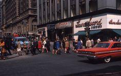 Intersection des rues Peel et Sainte-Catherine, 1968. VM94-AD50-003 | by Archives de la Ville de Montréal