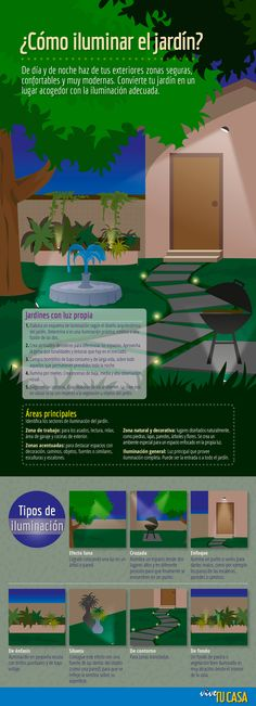 ¿Cómo iluminar el jardín? Ahora que ya lo sabe puede encontrar nuestras lámparas de exterior en este enlace http://www.lamparayluz.es/iluminacion-exterior :)